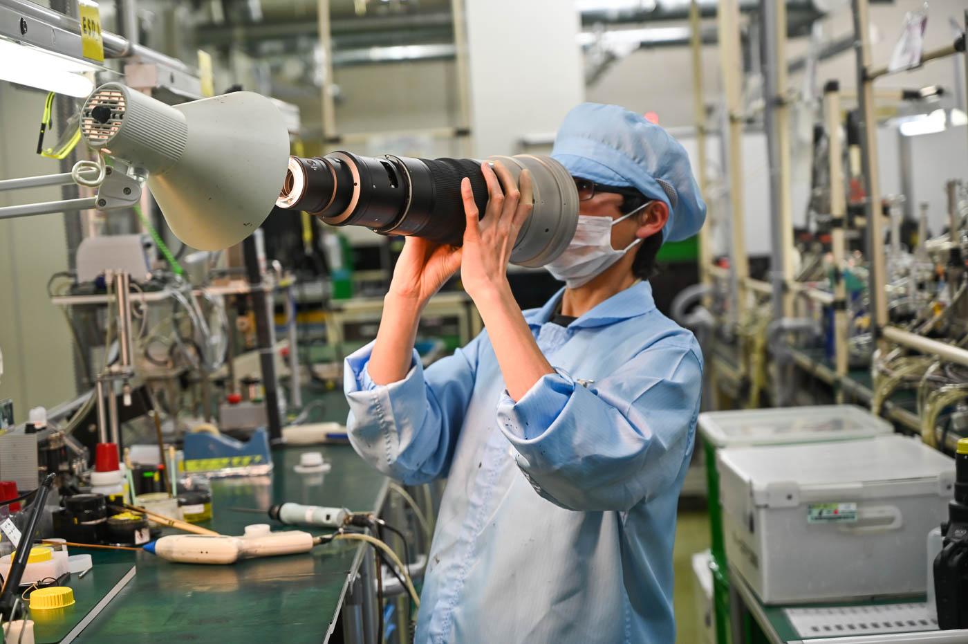 Produzione obiettivi Nikon