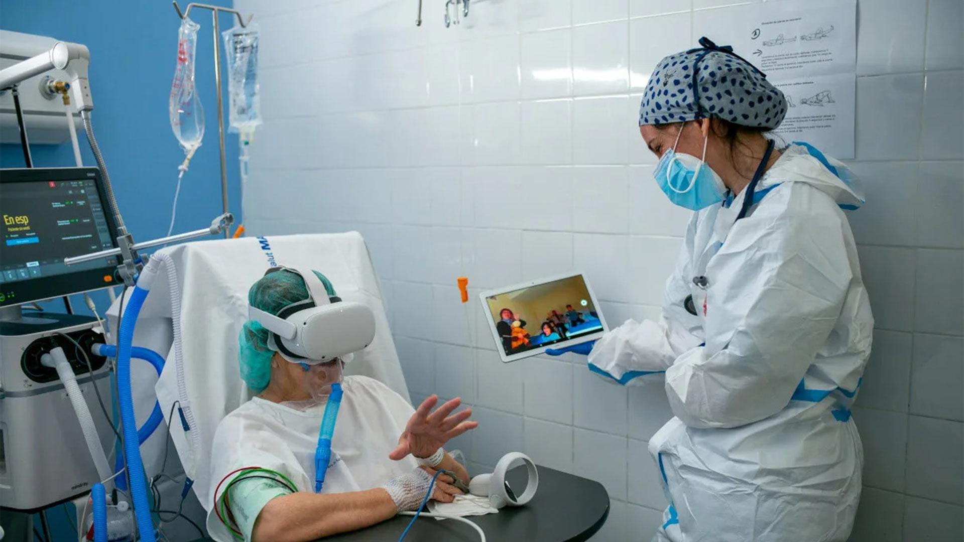 VR in aiuto ai pazienti Covid