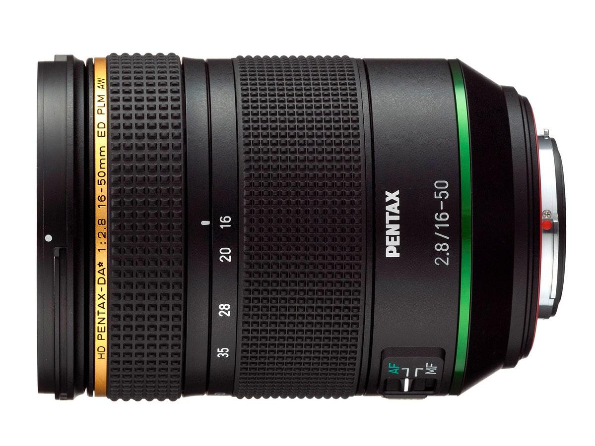 HD PENTAX-DA 16-50mm f/2.8ED PLM AW