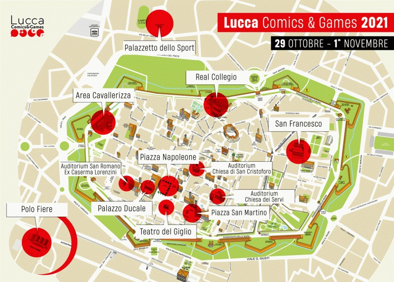 Lucca Comics Games 2021 date