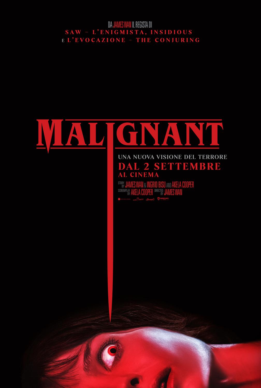 Malignant trailer data di uscita