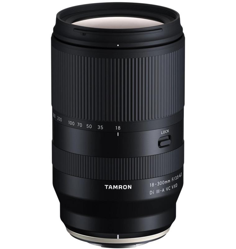 Tamron 18-300mm f/3.5-6.3 Di III-A VC VXD sviluppo
