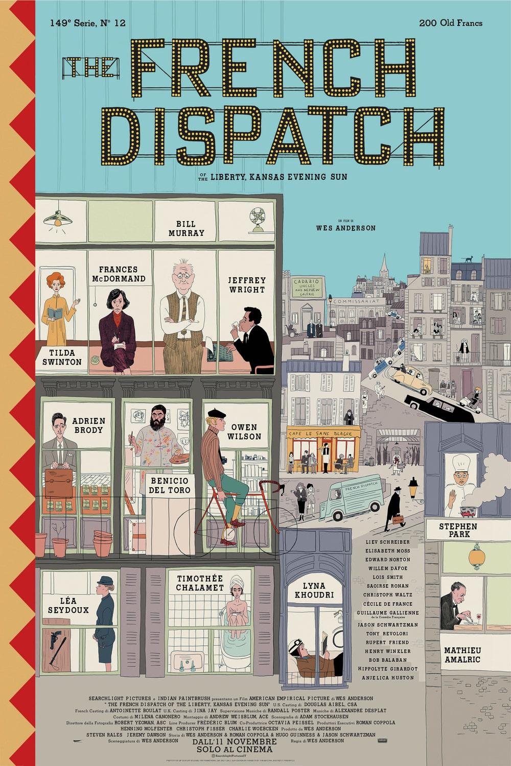 The French Dispatch trailer