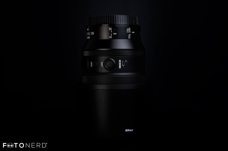 NikonZ MC 105mm f/2.8 VR S recensione