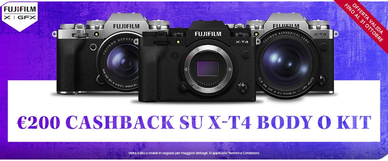 Fujifilm cashback settembre 2021