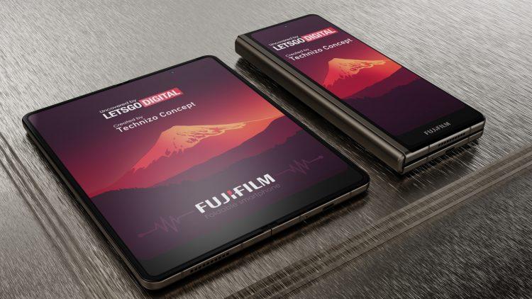 Smartphone Fujifilm Pieghevole