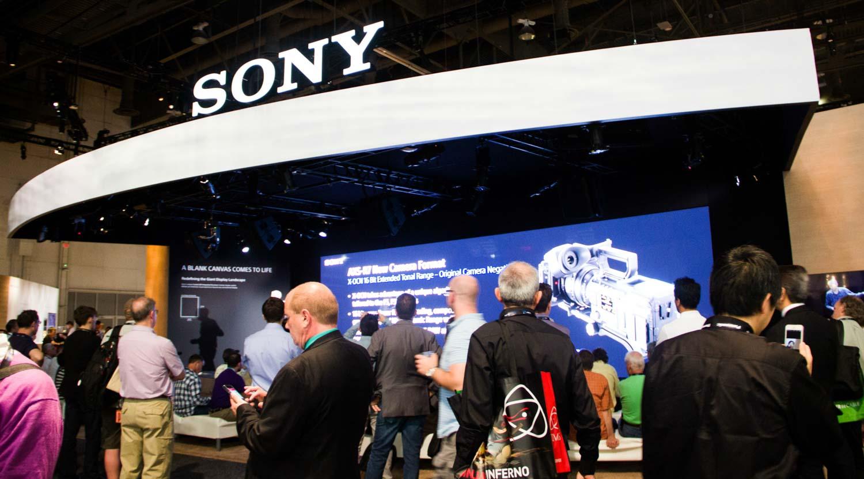 Sony annuncio ritiro fiere