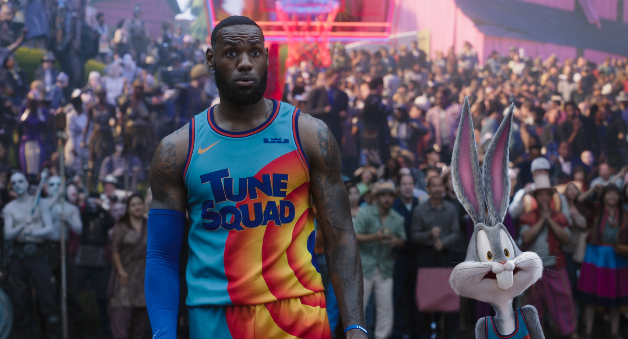 Space Jam New Legacy recensione