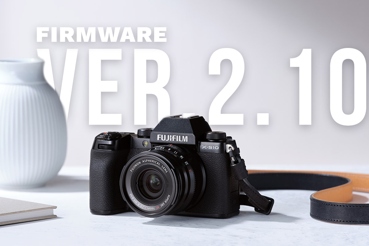 X-S10 Firmware Ver.2.10